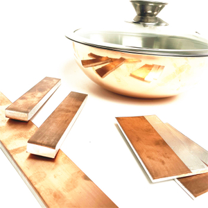 Nickel Aluminum Kitchen Utensils Pan Composite Aluminum Copper Strip