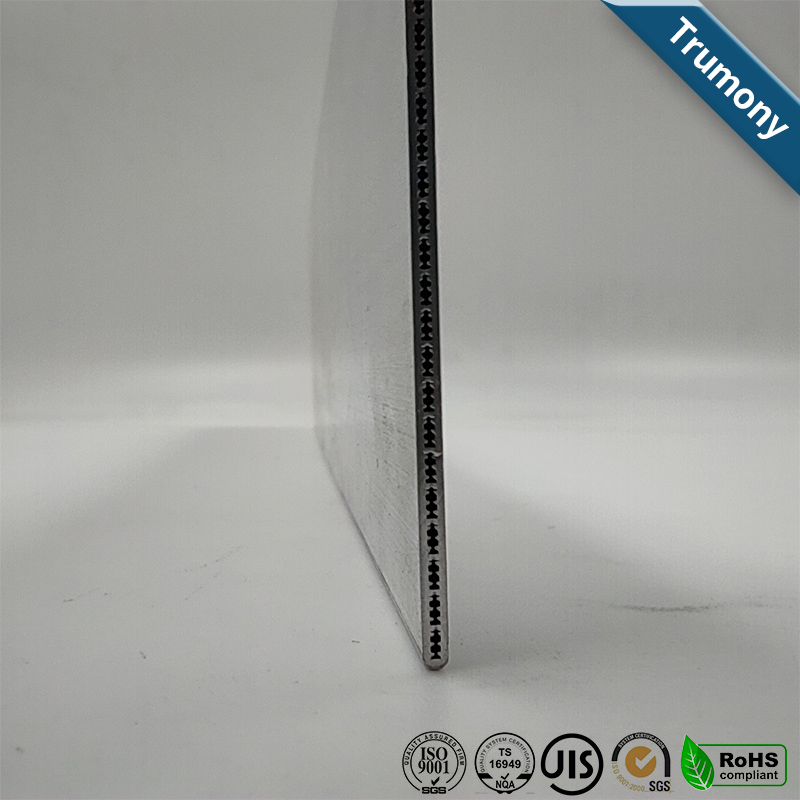 Aluminum Multi Port Channel Extruded Tube for Electronic Vehicles