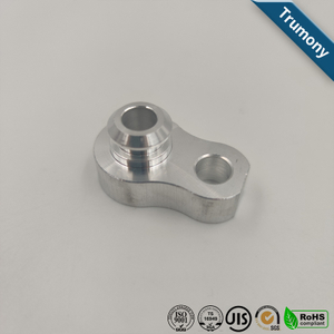 High Precision CNC Aluminum Block of Machined Car Tube End