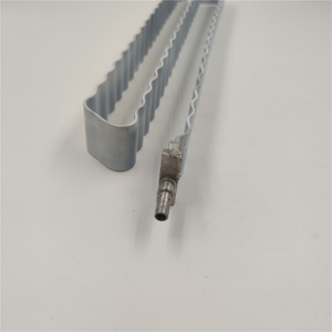 Water Cooling Adjustable Telescopic Aluminum Andozing Serpentine Tube