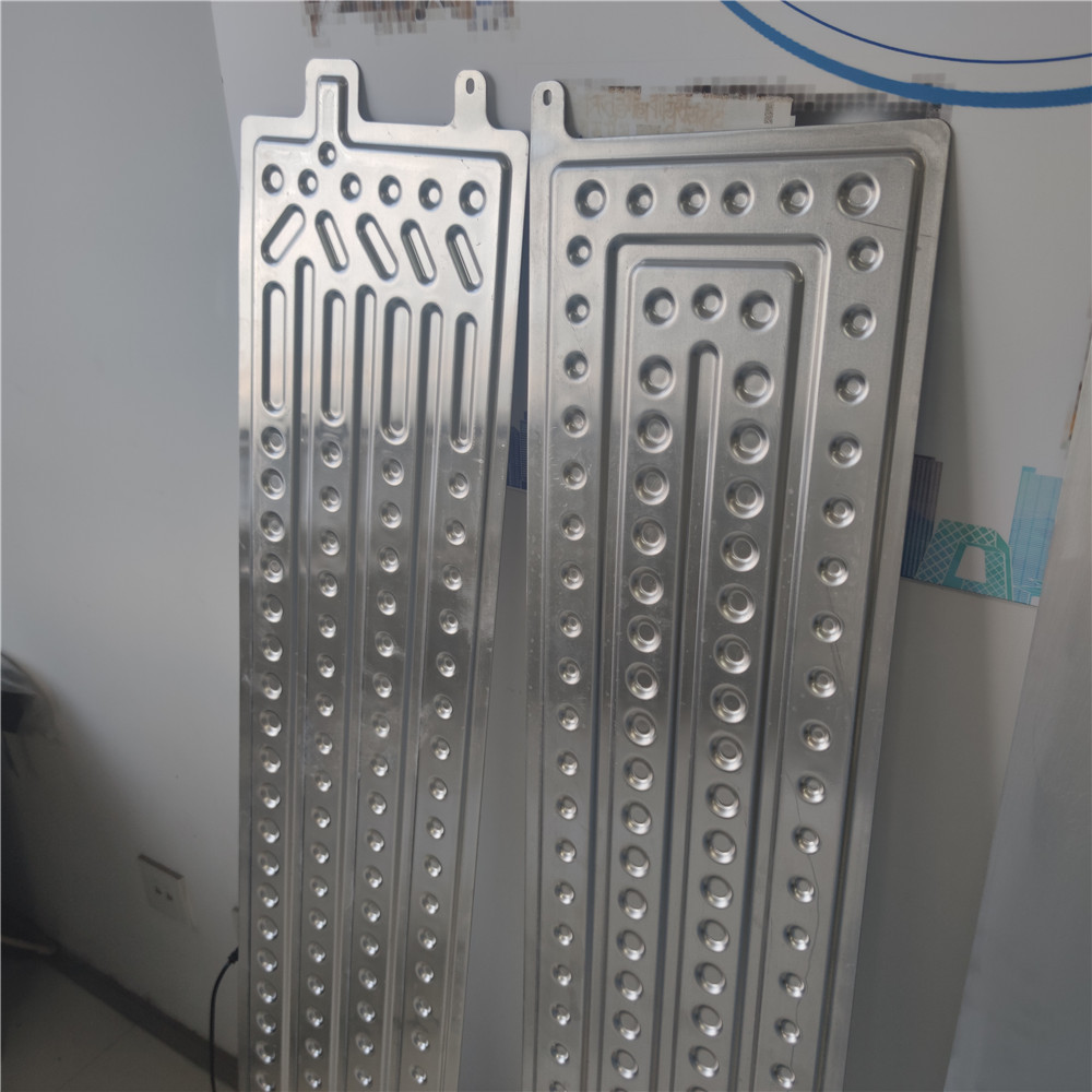 customized size Van passenger carriage EDLC cooler fan air coolant EDLC cooler aluminum aluminium plate