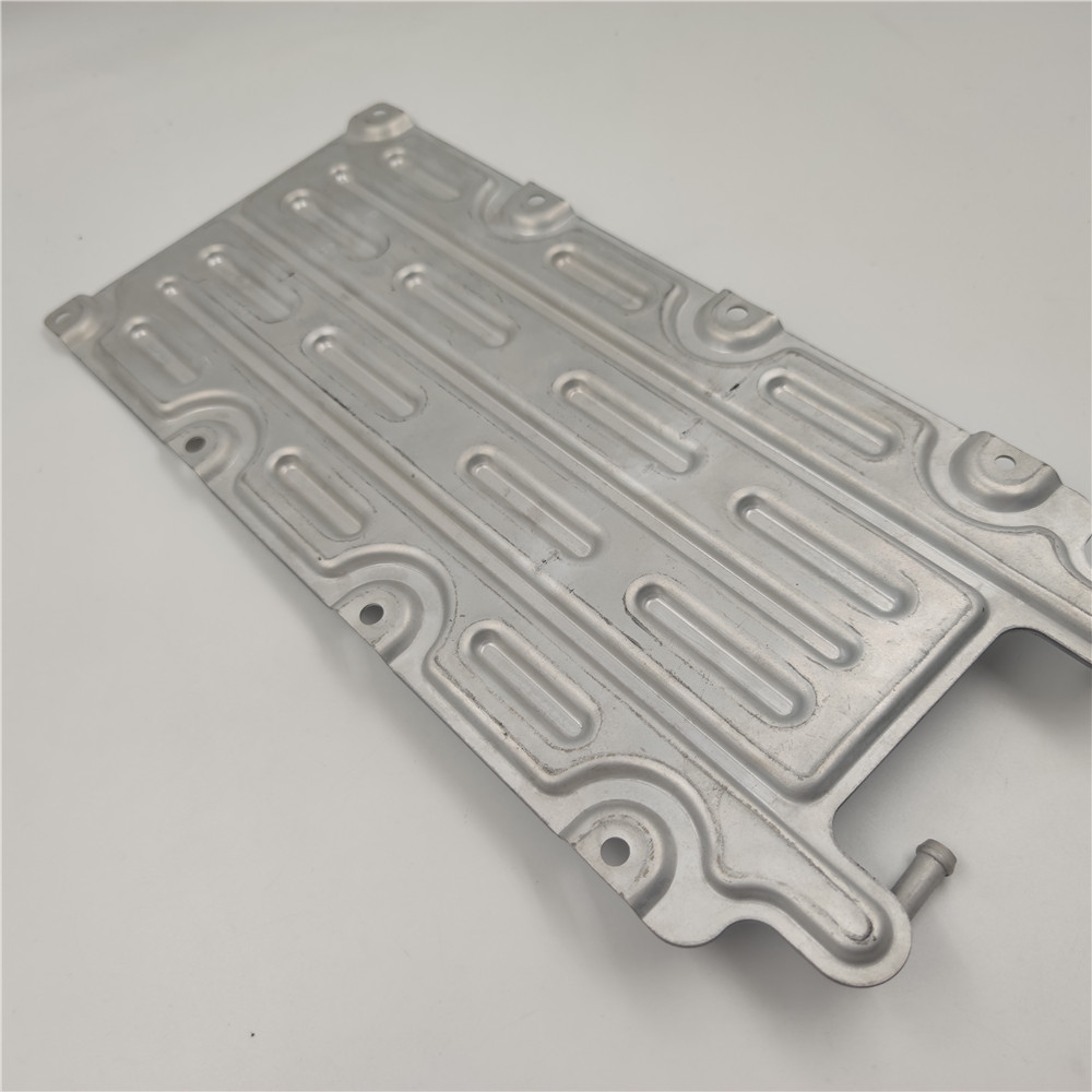 6061 Brazing High Power Water Cooling Plate for Laser Cutting Machine